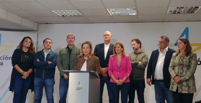 Alegría contenida de los nacionalistas en Tenerife y entusiasmo en Gran Canaria