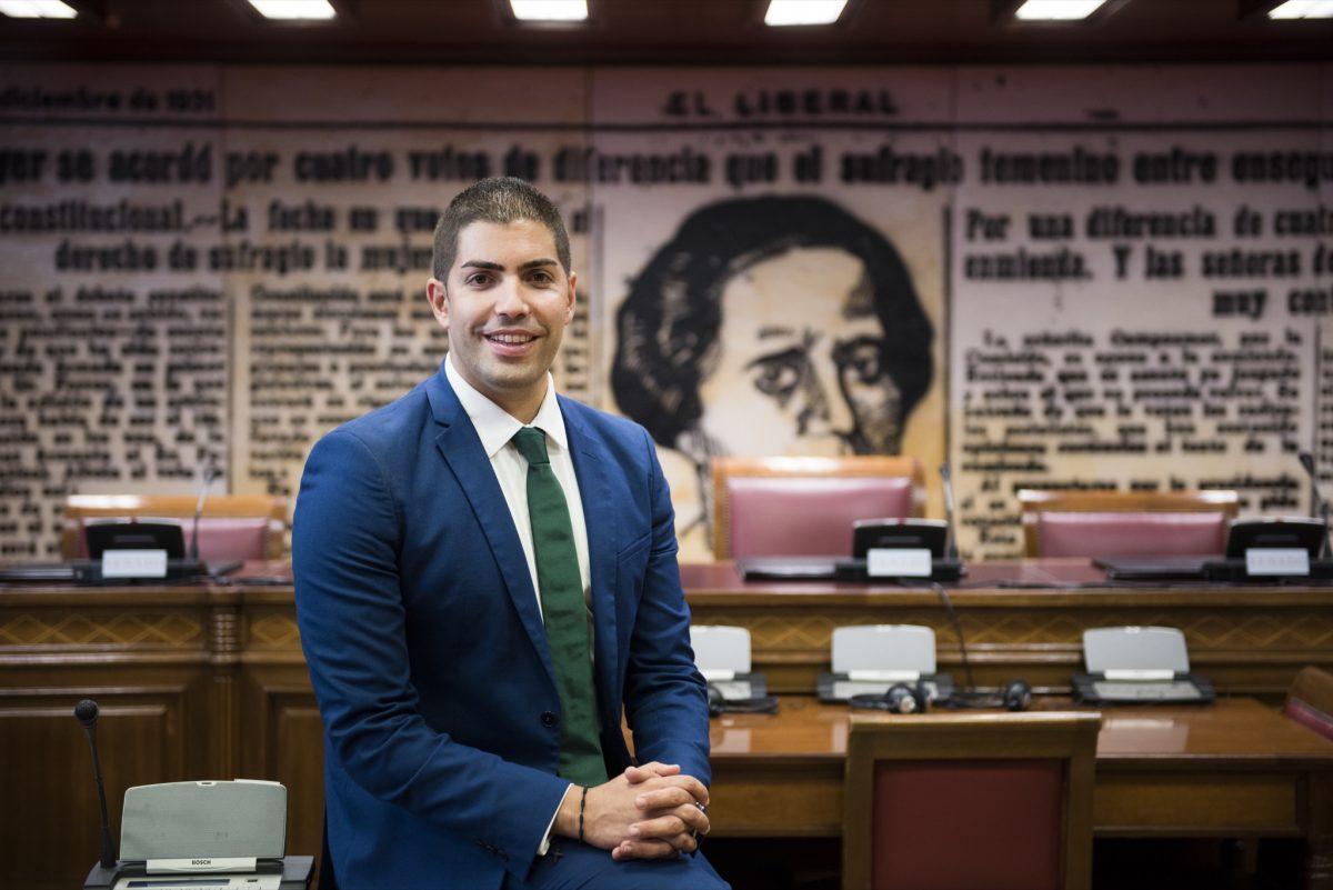 El candidato de AHI al Senado, Pablo Rodríguez Cejas. DA