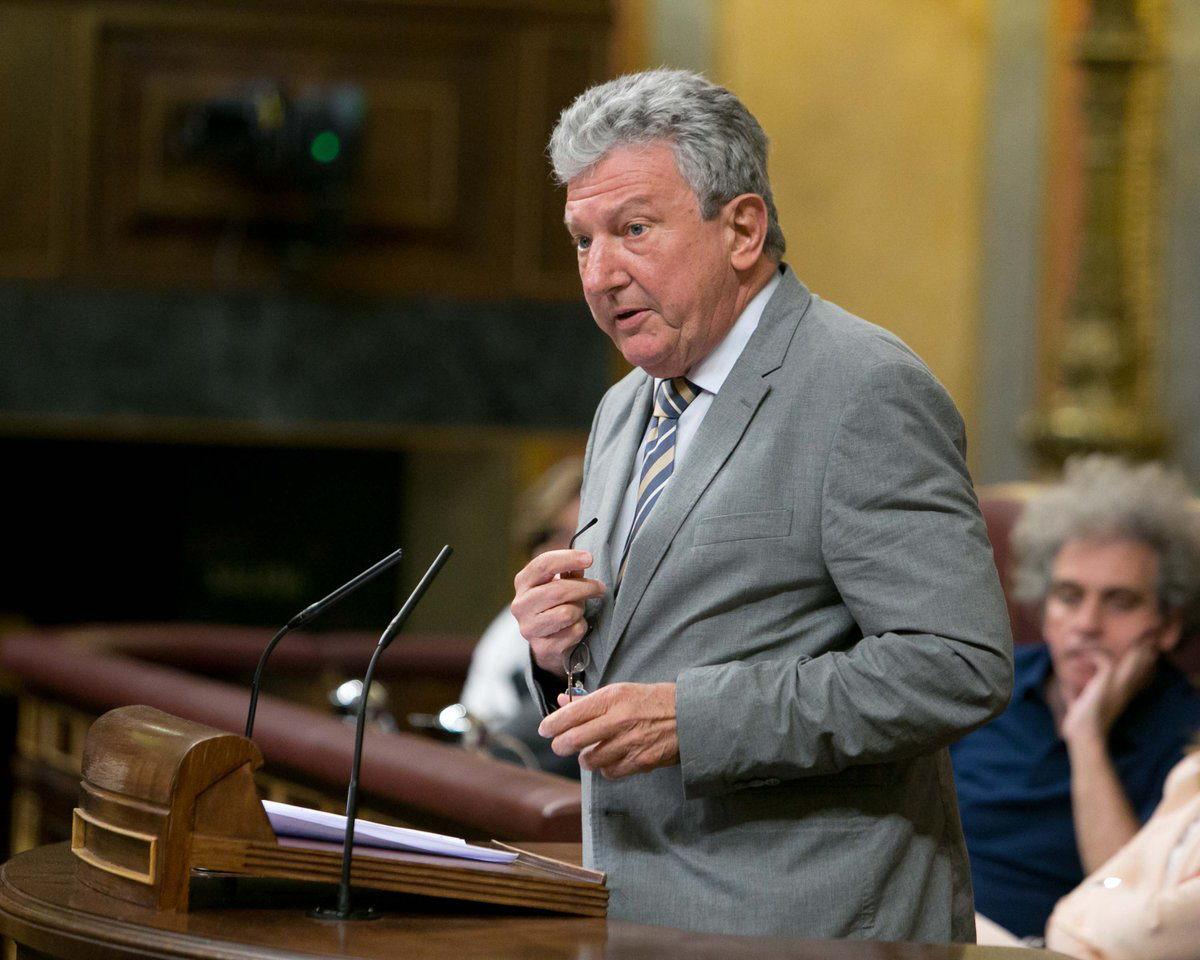 Pedro Quevedo, candidato de NC-CC al Congreso por la provincia de Las Palmas
