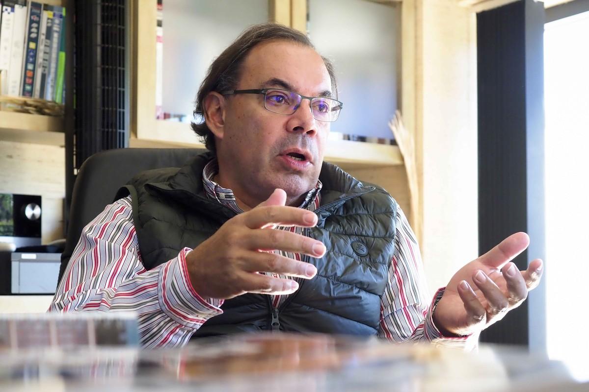 Adalberto Dorta, propietario de Repuestos Doral. Sergio Méndez