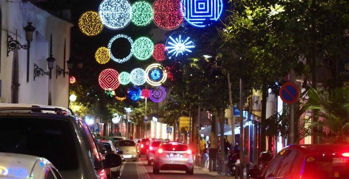 Tres millones de bombillas LED iluminarán la Navidad en Santa Cruz