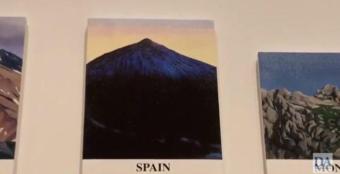 El Teide, estrella en una de las citas artísticas más importantes del planeta
