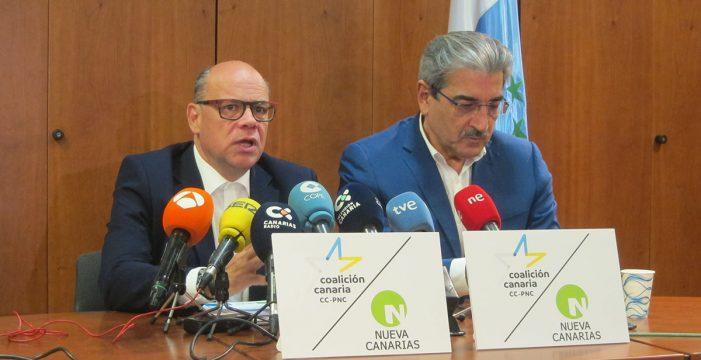 CC y NC no bloquearán la investidura pero exigen el cumplimiento de los derechos de Canarias