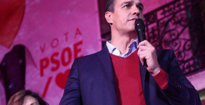 """Sánchez ofrece """"generosidad"""" para un Gobierno progresista"""