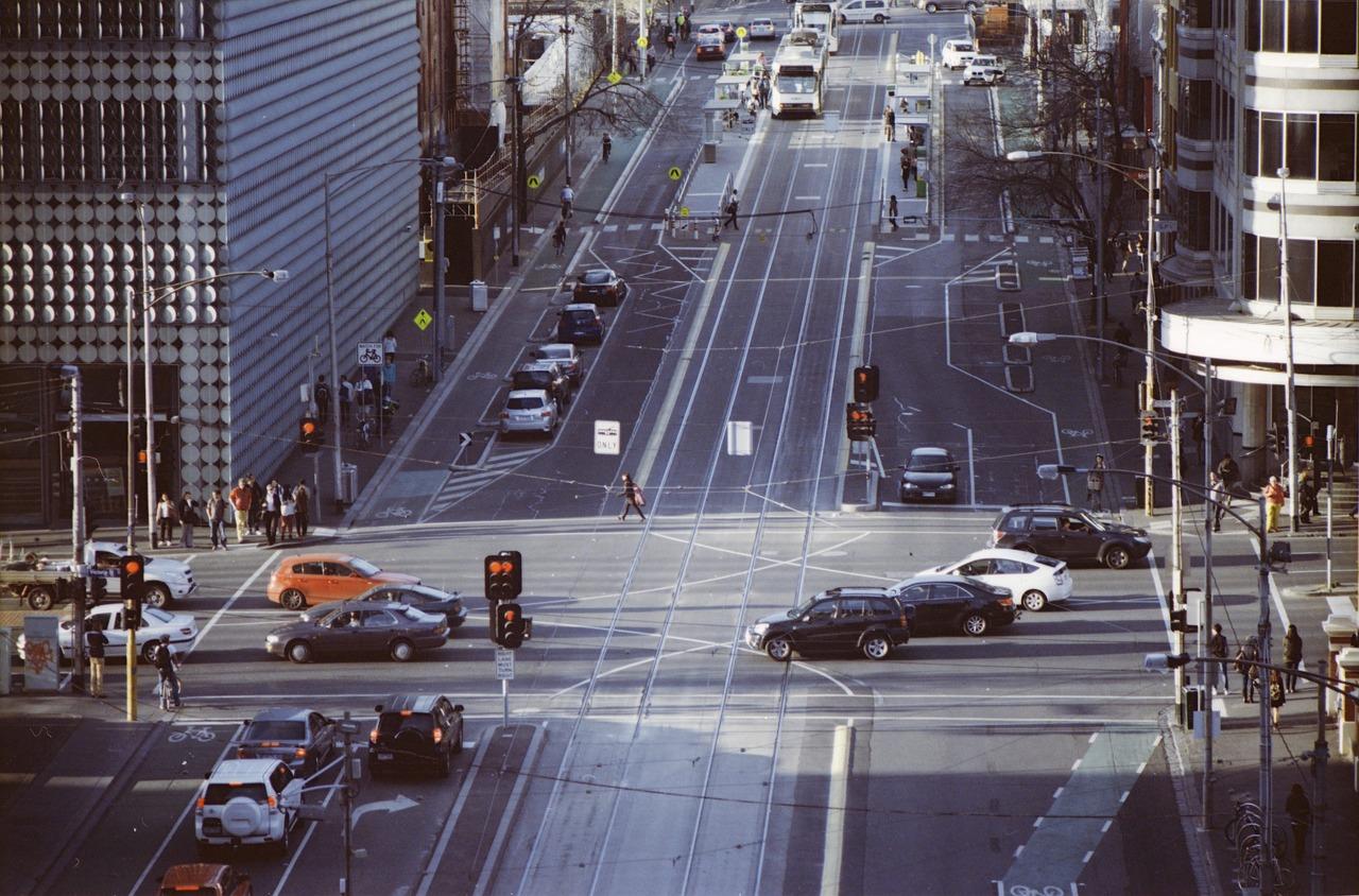 Tráfico en Australia. Pixabay