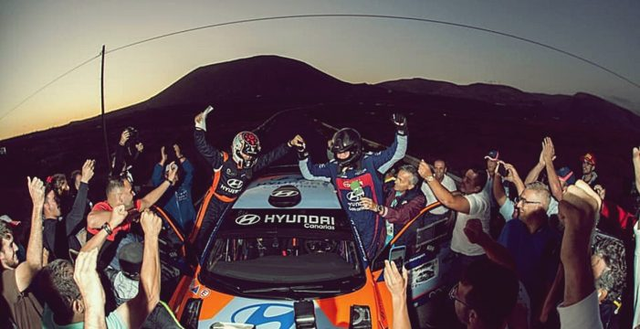 Yeray Lemes y Rogelio Peñate, campeones de Canarias de Rallys de Asfalto
