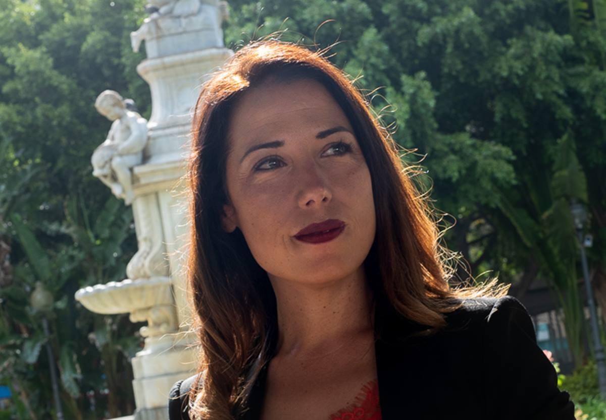 La alcaldesa de Santa Cruz, Patricia Hernández. Fran Pallero
