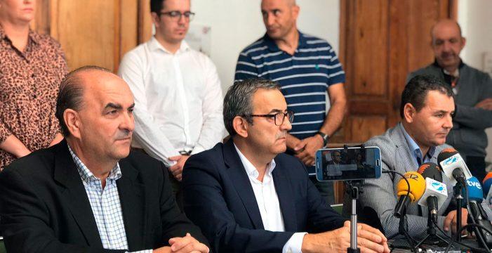 Sebastián Martín se alía con CC y PP para ser alcalde de Arico