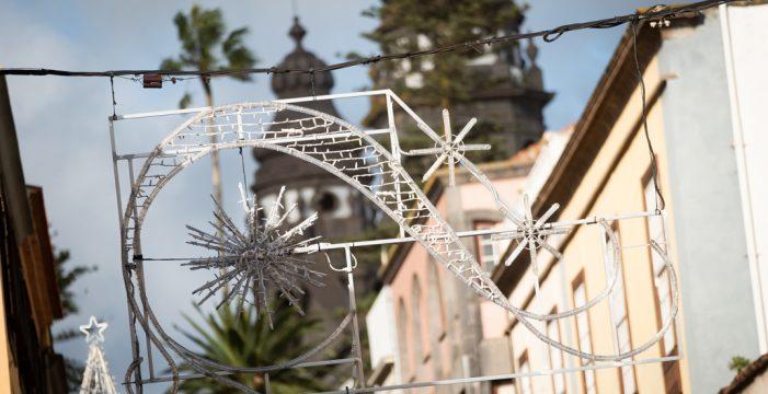 La nueva iluminación navideña de La Laguna se encenderá el día 22