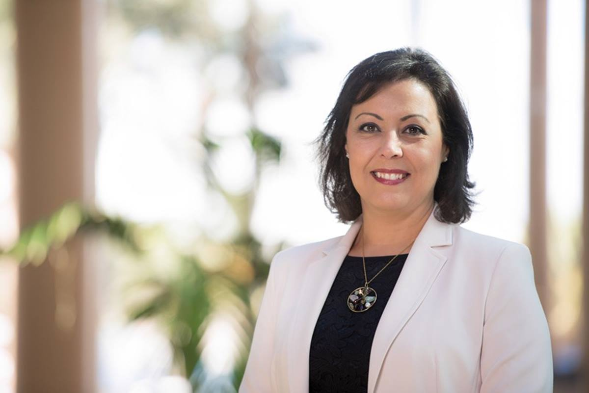 La vicepresidenta de la patronal hotelera, Victoria López. DA