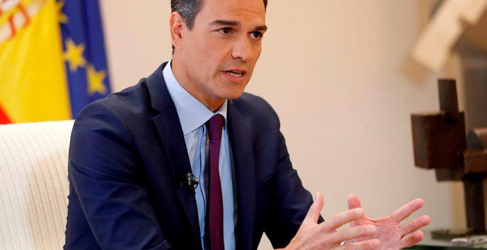 """Pedro Sánchez: """"Los canarios depositan su confianza en el PSOE. No defraudaremos"""""""