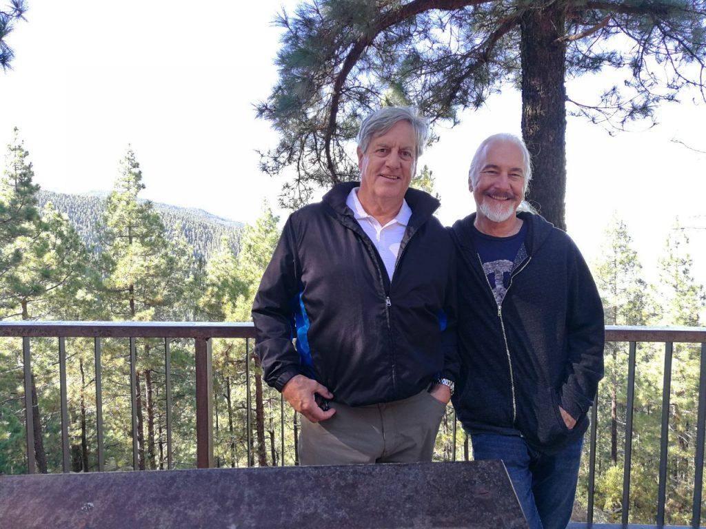 David Naughton y Rick Baker, dos mitos del cine fantástico en Tenerife.