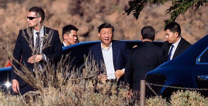 El presidente chino Xi Jinping disfrutó de un día en el Teide