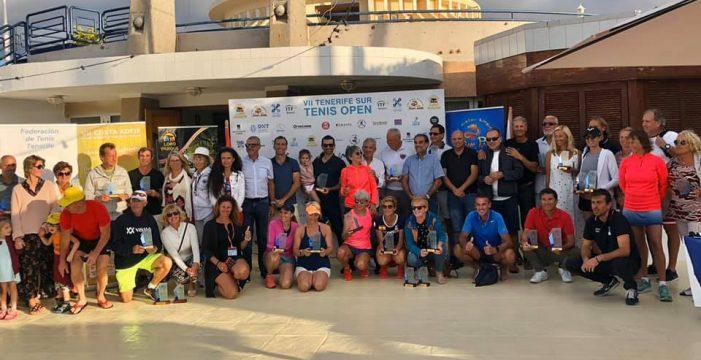 Éxito de la VII edición del ITF Senior Tennis Open del CN Puerto Colón de Adeje