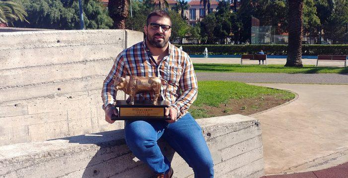 """Ayoze Reyes: """"Este es el premio al sacrificio y al trabajo realizado todos estos años"""""""