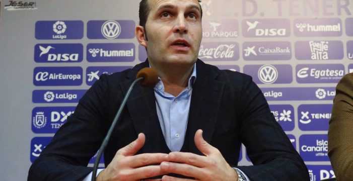 """Rubén Baraja: """"Cuando venía  como jugador sabía que iba a sufrir"""""""