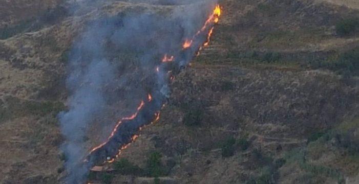 Detienen al presunto autor del incendio de Las Lagunetas (Gran Canaria)