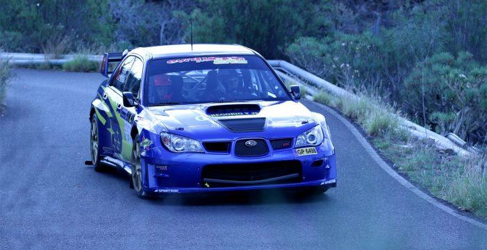 El Rallysprint Santiago del Teide fue para Félix Brito y Cristina Fariña