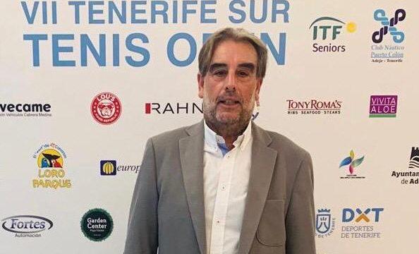 Entrevista a Salvador García, director del ITF Senior Tennis Open Club Náutico Puerto Colón de Costa Adeje