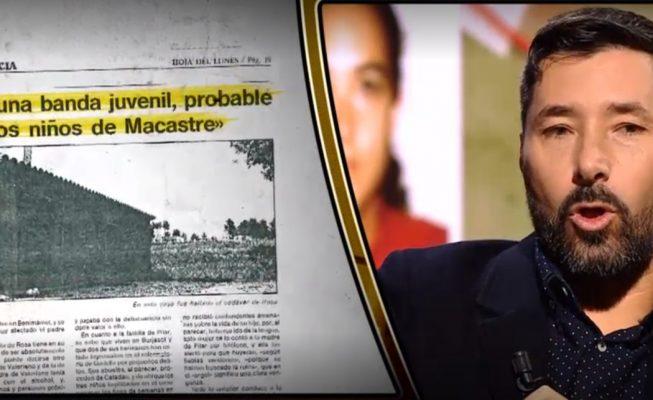 Félix Ríos, el criminólogo tinerfeño que ayer trató de arrojar luz con Iker Jiménez sobre el misterio de Macastre