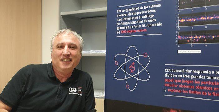 Paolo Calisse, el líder científico de los telescopios Cherenkov en La Palma