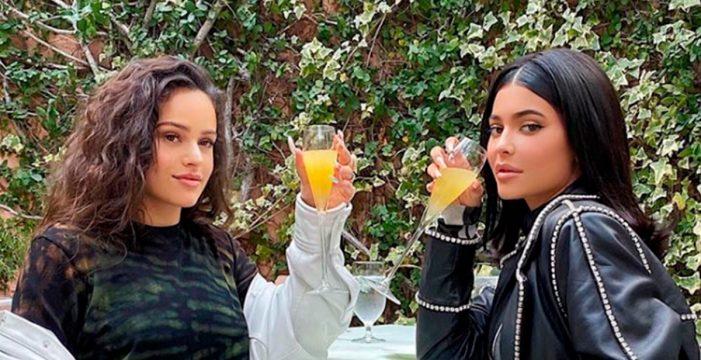 Rosalía y Kylie Jenner rompen internet con estas fotos que suman millones de 'likes'