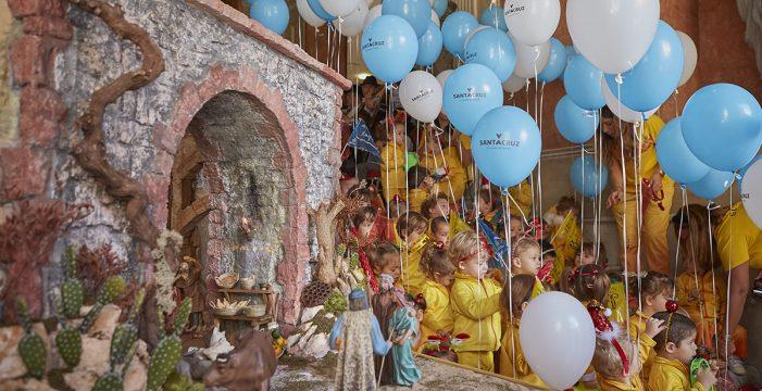 Más de un centenar de piezas componen el Belén del Ayuntamiento de Santa Cruz