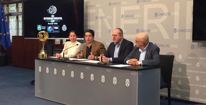 Presentada la Copa Intercontinental de la FIBA que se disputará en Tenerife