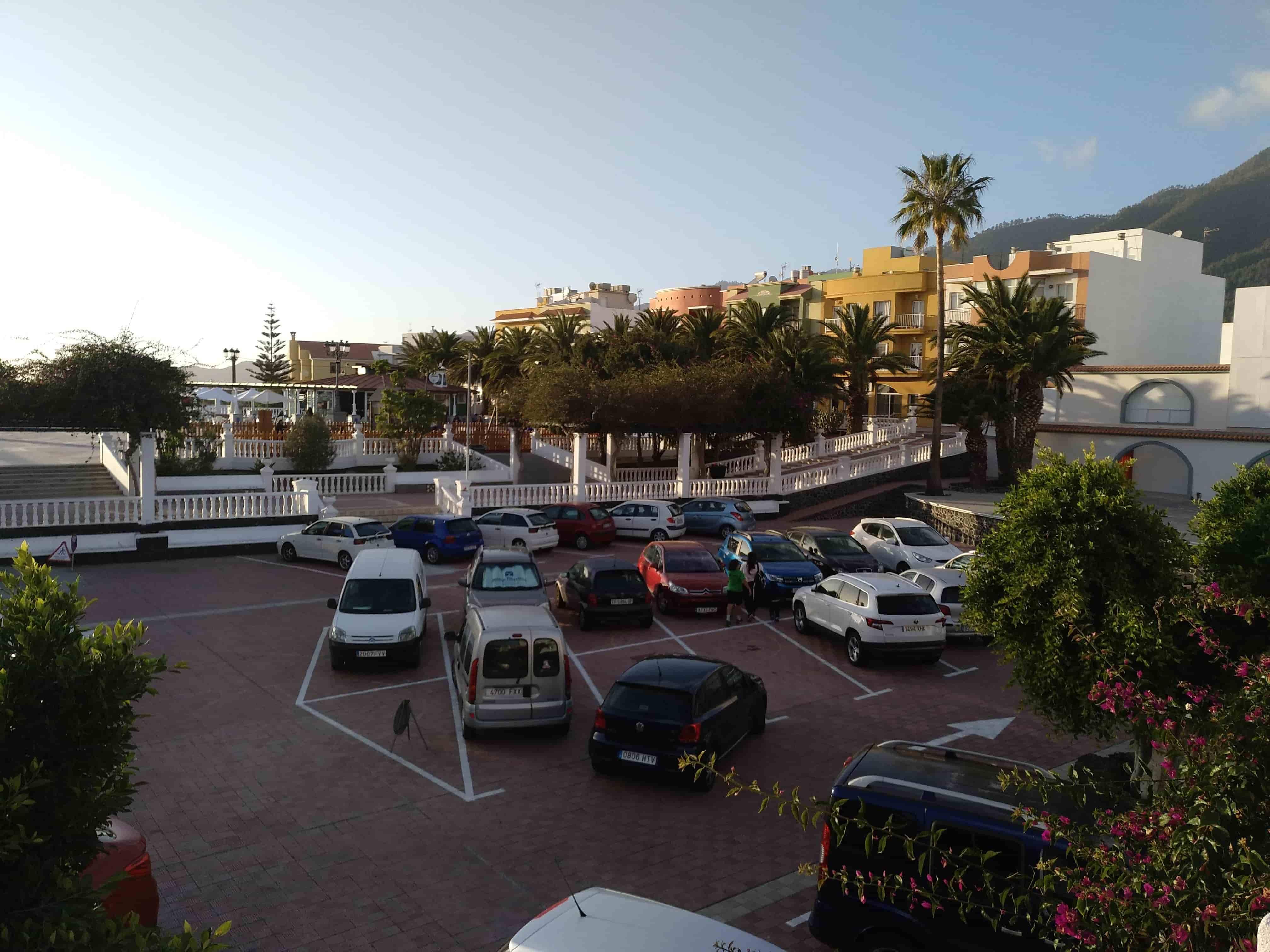 Actualmente, el conocido como Parque Infantil está habilitado como zona de aparcamientos. DA