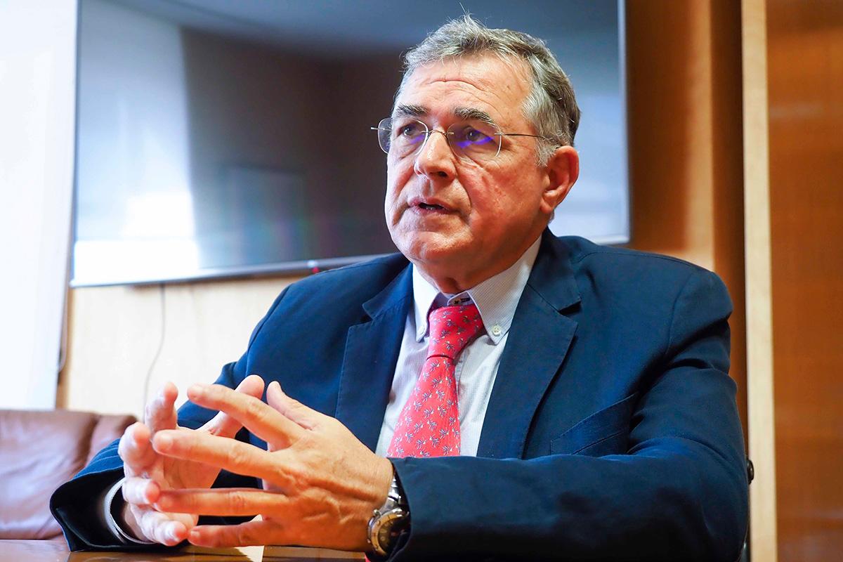Carlos González, presidente de la Autoridad Portuaria de Santa Cruz de Tenerife