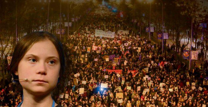"""Greta Thunberg: """"Aún no hemos logrado nada. Queremos medidas urgentes"""""""