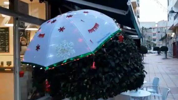 La creatividad de nuestros lectores no tiene límite: esto es lo que han hecho con un paraguas de Diario de Avisos