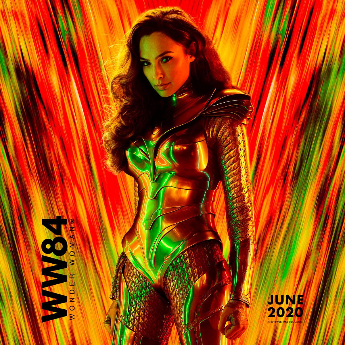 Cartel de 'Wonder Woman 1984'