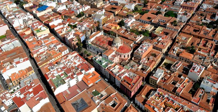 Un trazado urbano que permanece desde 1500