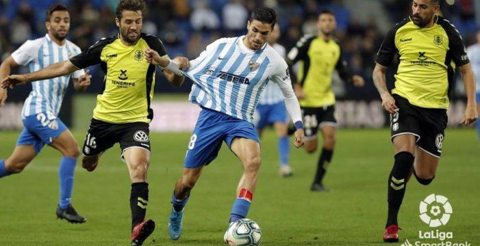 Baraja se estrena en el Tenerife con derrota y en puestos de descenso