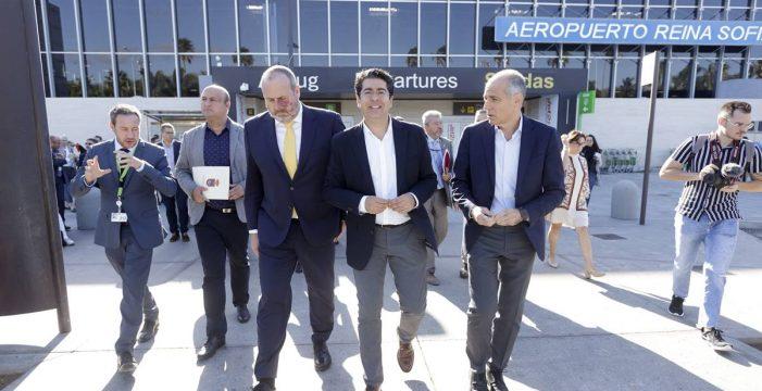 """Pedro Martín exige a AENA una """"gran terminal"""" para Tenerife Sur"""
