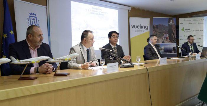 Vueling refuerza su presencia en Tenerife con un tercer avión