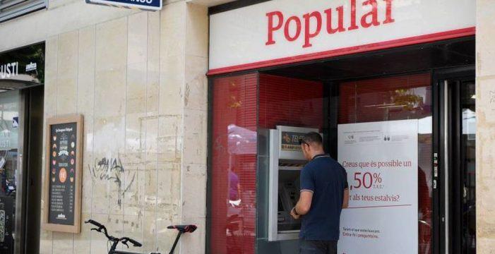 Recuperan medio millón de euros del Banco Popular en los juzgados