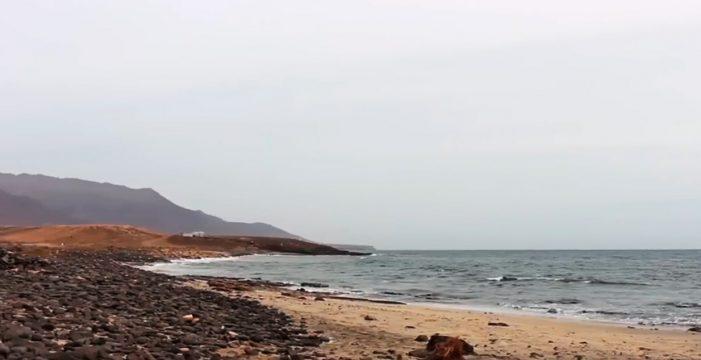 Aparece un vertido contaminante en montaña de La Muda, Fuerteventura