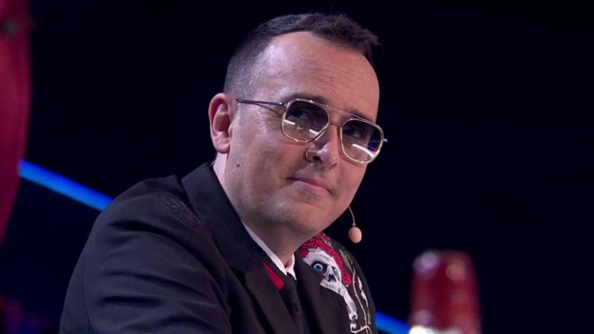 Risto Mejide en 'Got Talent' (Mediaset)