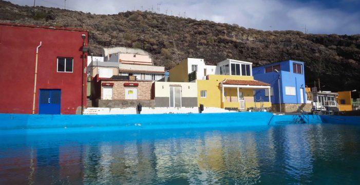 El Cabildo se compromete a colaborar para actuar en el talud de Santa Lucía