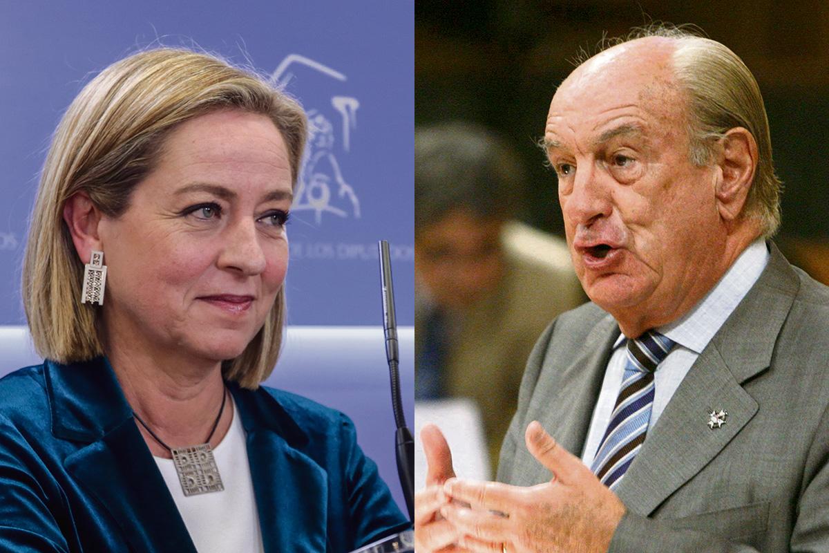 Ana Oramas y Luis Mardones