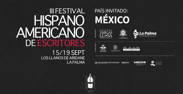 La Palma presenta en Madrid el III Festival Hispanoamericano de Escritores