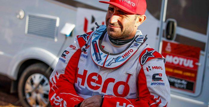 Muere el portugués Paulo Gonçalves tras una caída durante la séptima etapa del Dakar