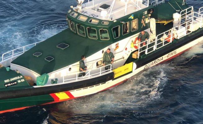 Encuentran fardos de droga en el mar del sur de Tenerife