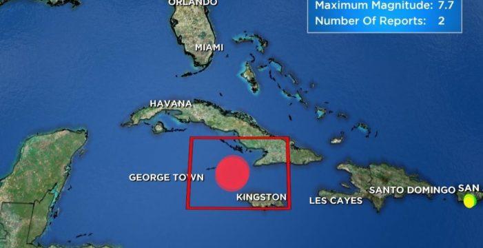 Alerta de tsunami en Cuba, Jamaica e Islas Caimán tras un terremoto de magnitud 7,7