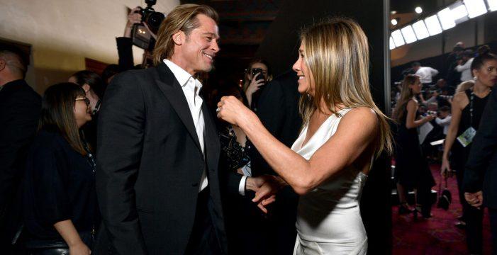 El 'momentazo' más esperado: Brad Pitt y Jennifer Aniston, en una misma foto