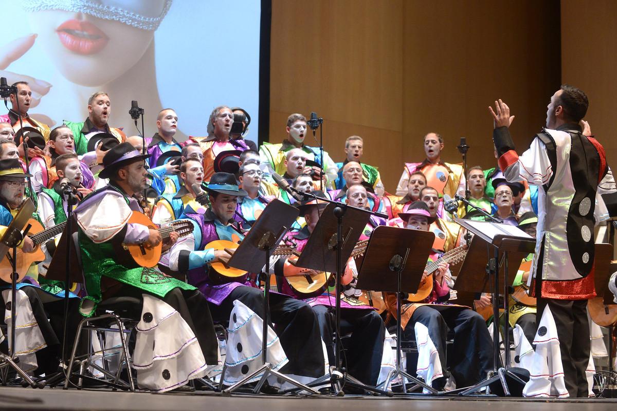 La rondalla Mamel's                participa en el Carnaval chicharrero desde el año 2014.