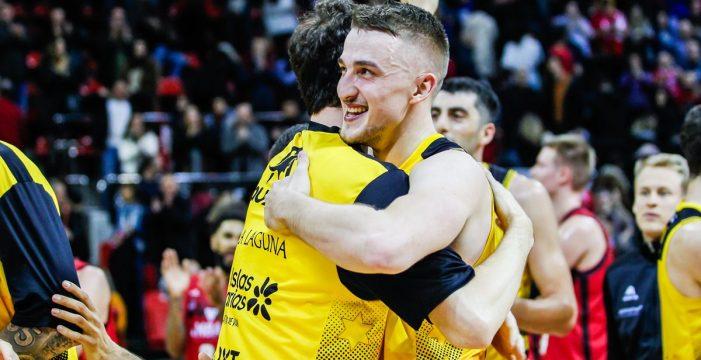 El Iberostar Tenerife gana en Zaragoza y será cabeza de serie en la Copa del Rey (99-111)