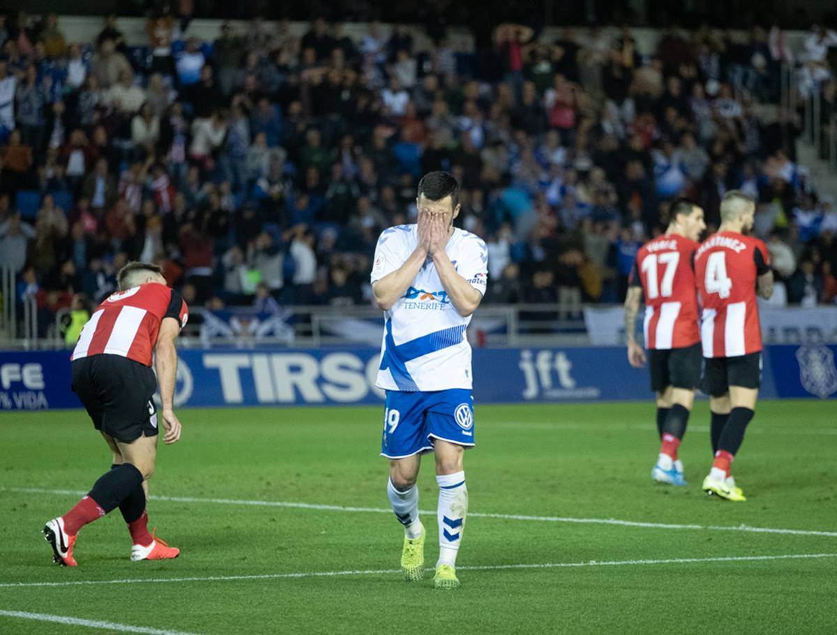 Tenerife-Athletic Club. Fran Pallero